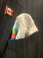 Battle Plan Vimy Ridge Pocket Square