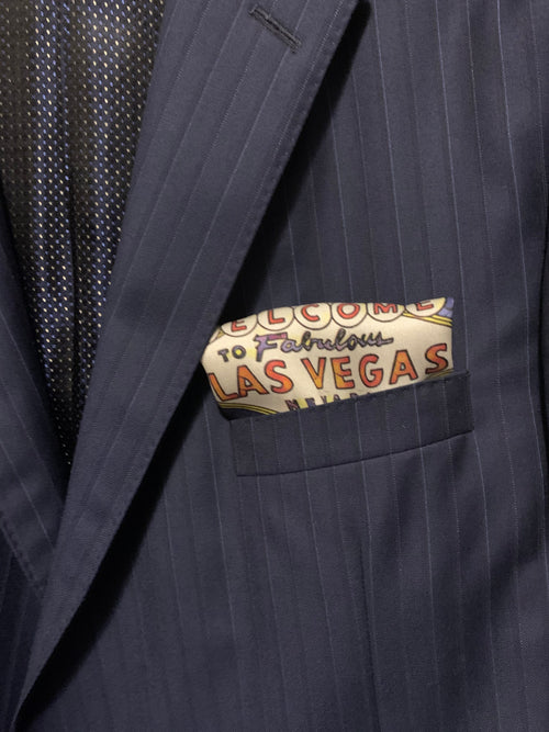 Fabulous Las Vegas Night Pocket Square
