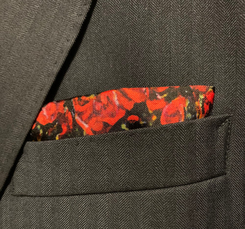 Remember The Fallen Pocket Square