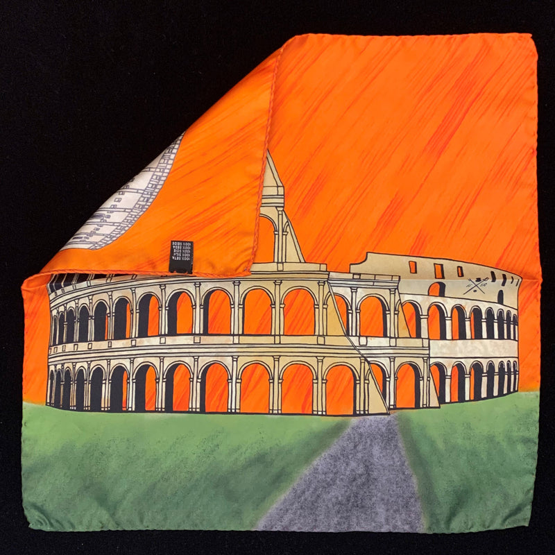 Rome - Colosseum - Orange