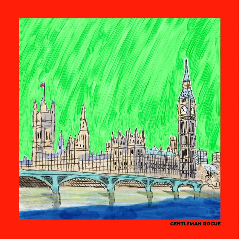 London - Palace of Westminster Red