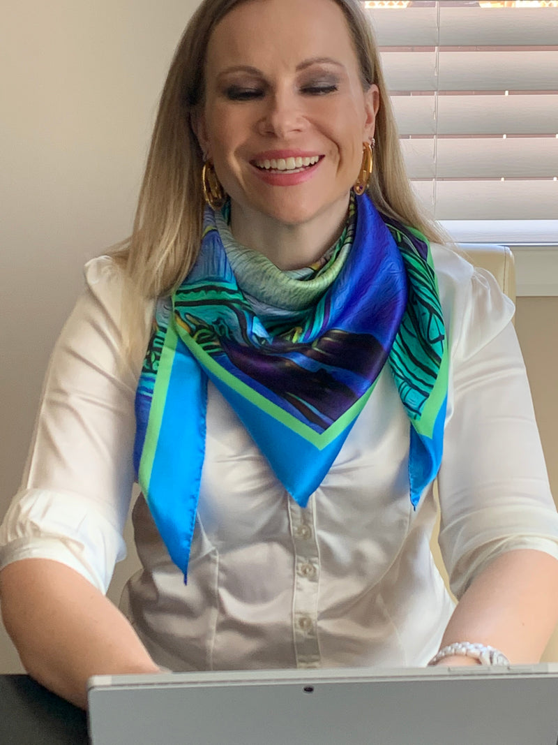 Brooklyn Skyline Ladies Scarf