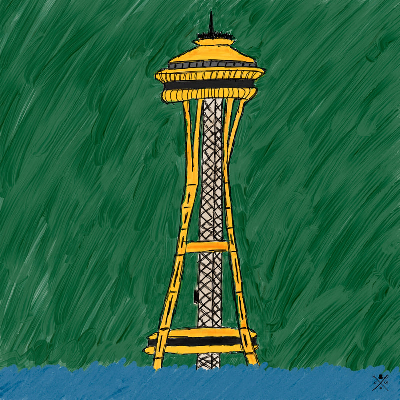 Rogue Space Needle - Seattle