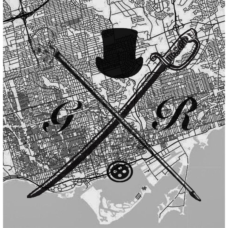 Toronto Street Map Black and White