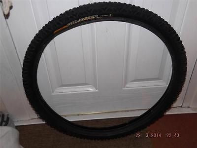 CONTINENTAL GRAVITY 26 X 2.3 TYRE + TUBE WIRE BEAD MTB XC