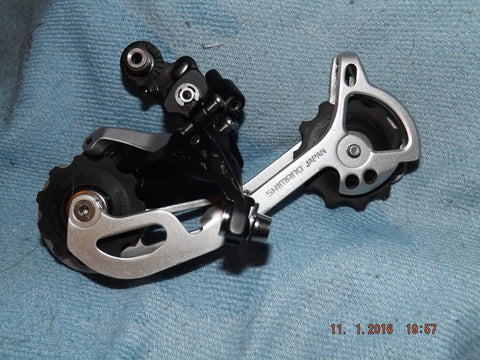 SHIMANO XT SHADOW RD-M772 SGS 9SP LONG REAR DERAILLEUR MECH