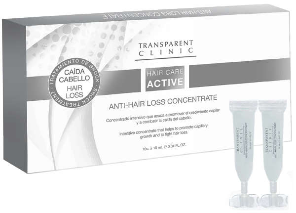 Transparent Clinic Hair Care Active Anti-Hair Loss Concentrate