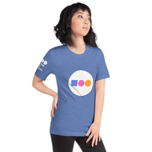 Load image into Gallery viewer, Unisex T-Shirt | Color Circle Logo
