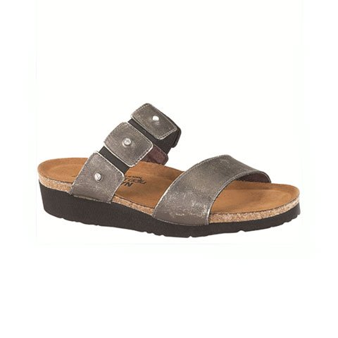 Naot Ashley (Women) - Metal Sandals|Slide Sandals - The Heel Shoe Fitters