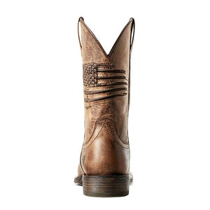 Ariat Circuit Patriot (Men) - Weathered Tan Boots|Fashion - Mid Boot - The Heel Shoe Fitters