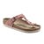 Birkenstock Gizeh (Women) - Rose Nubuck Leather Sandals|Thong Sandals - The Heel Shoe Fitters