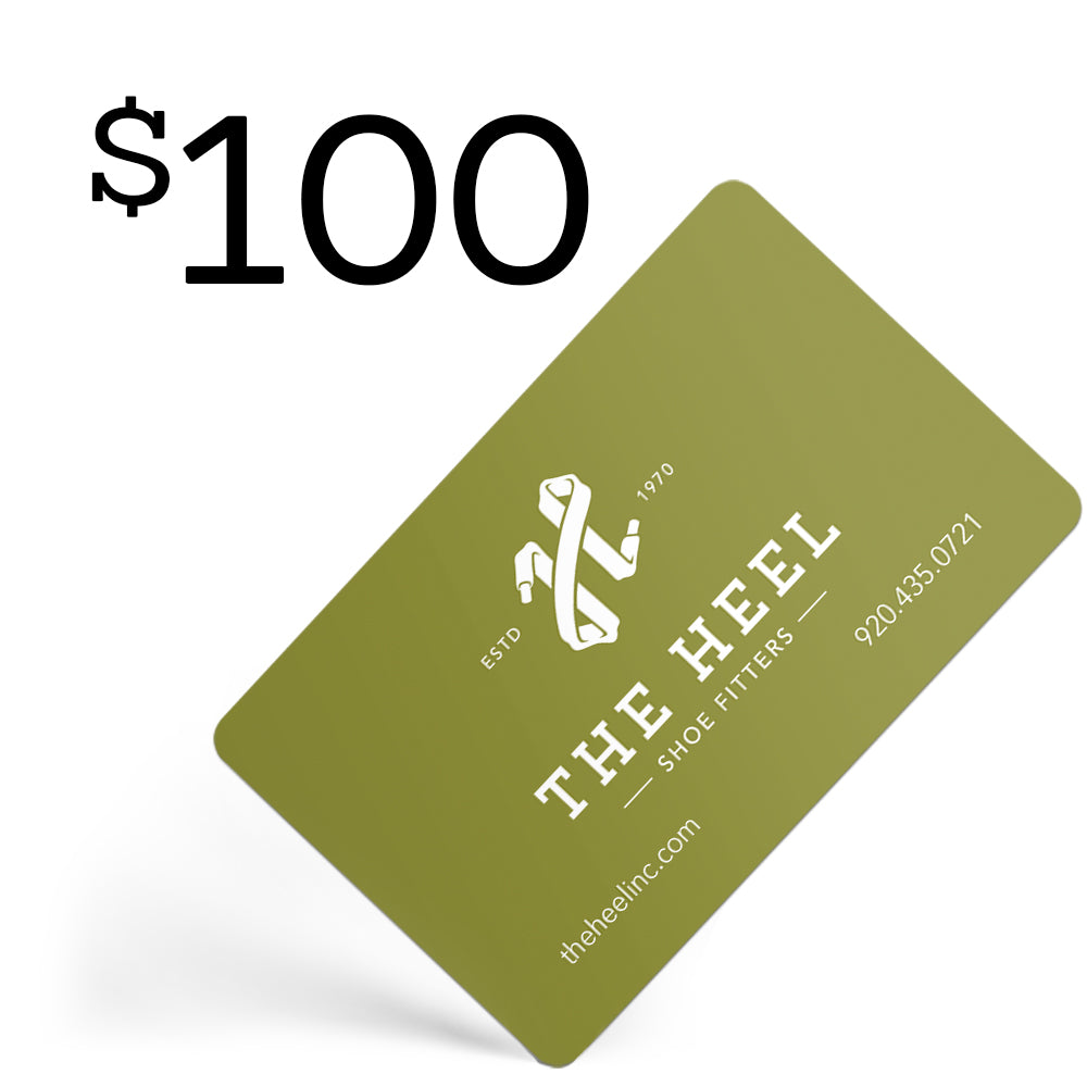 $100 Gift Card  - The Heel Shoe Fitters