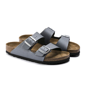 Birkenstock Arizona Birko-Flor (N) - Icy Metallic Anthracite