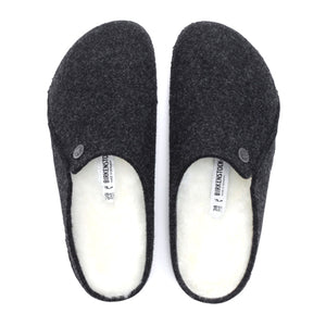 Birkenstock Zermatt Shearling (Women) - Anthracite/Natural