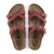 Birkenstock Franca (Women)(N) - Fire Red Oiled Leather Sandals|Slide Sandals - The Heel Shoe Fitters