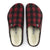 Birkenstock Zermatt Shearling (Men) - Red Plaid/Natural DressCasual - Slippers - The Heel Shoe Fitters
