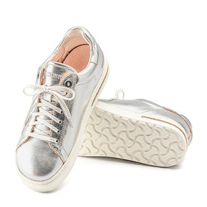 Birkenstock Bend (Women) - Silver Leather