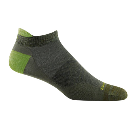 Darn Tough Run No Show Tab Ultra Ligthweight (Men) - Fatigue Socks - Life - No Show - The Heel Shoe Fitters