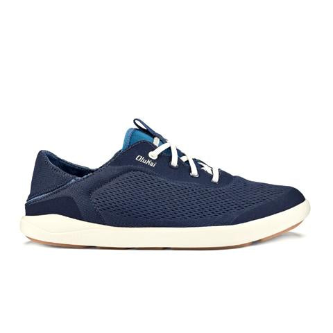 Olukai Moku Pae (Men) - Trench Blue/Off White Athletic - Athleisure - The Heel Shoe Fitters