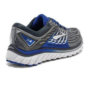 Brooks Glycerin 14 (Men) - Anthracite/Electric Brooks Blue/Silver