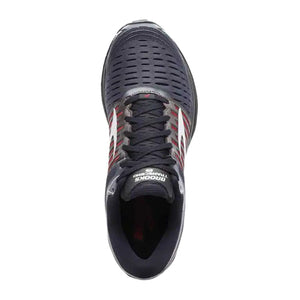 Brooks Transcend 5 (Men) - Ebony/Black/Red Athletic|Running|Cushion - The Heel Shoe Fitters