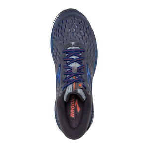 Brooks Transcend 6 (Men) - Ebony/Blue/Mandarin
