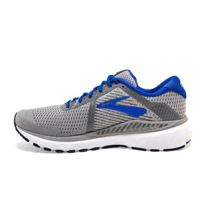Brooks Adrenaline GTS 20 (Men) - Grey/Blue/Navy Athletic|Running|Cushion - The Heel Shoe Fitters