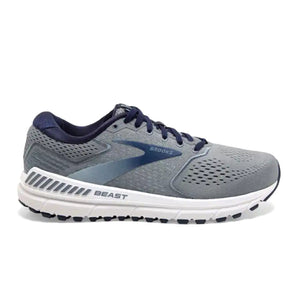 Brooks Beast 20 (Men) - Blue/Grey/Peacoat Athletic|Running|Cushion - The Heel Shoe Fitters