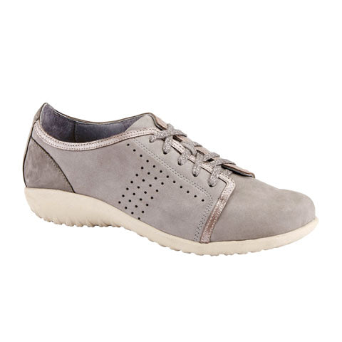 Naot Avena - Light Gray/Silver Threads/Smoke Gray Dress/Casual|Lace Ups - The Heel Shoe Fitters