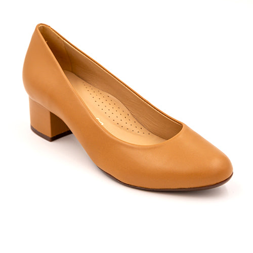 Wirth Eclipse Pump - Tan Dress/Casual|Heels - The Heel Shoe Fitters