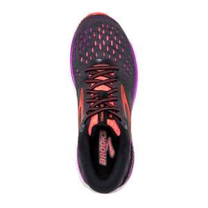 Brooks Transcend 6 (Women) - Black/Purple/Coral