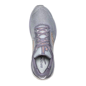 Brooks Adrenaline GTS 20 (Women) - Grey/Pale Peach/White Athletic|Running|Cushion - The Heel Shoe Fitters