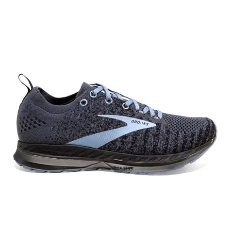 Brooks Bedlam 2 (Women) - Black/Grey/Kentucky Blue Athletic|Running|Stability - The Heel Shoe Fitters