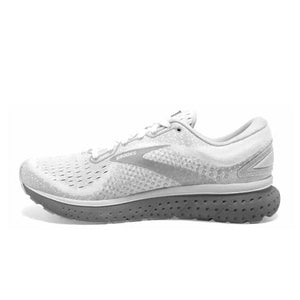 Brooks Glycerin 18 (Women) - White/Grey/Primer Athletic|Running|Cushion - The Heel Shoe Fitters