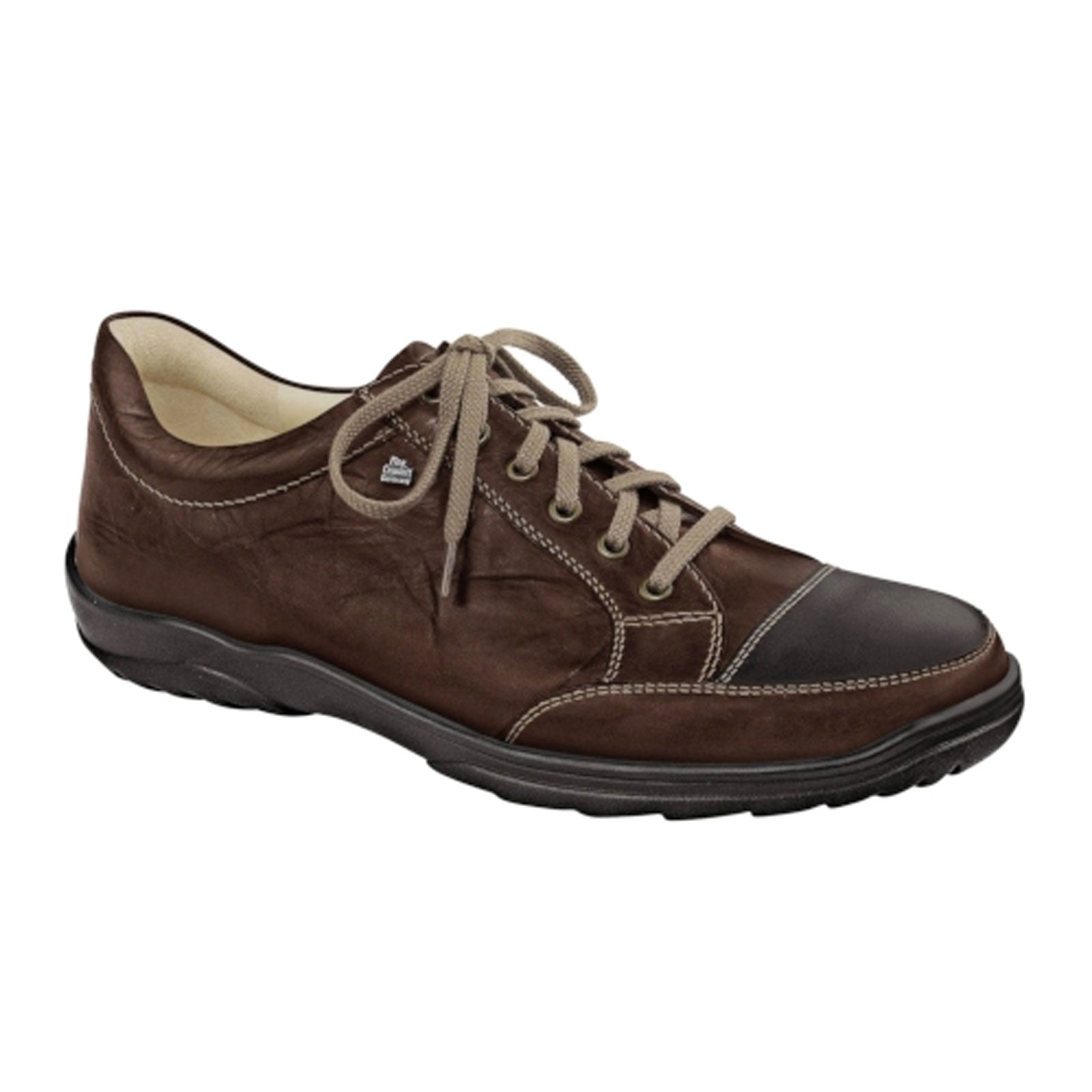 Finn Comfort Alamo (Men) - Cigar Dress/Casual|Lace Ups - The Heel Shoe Fitters