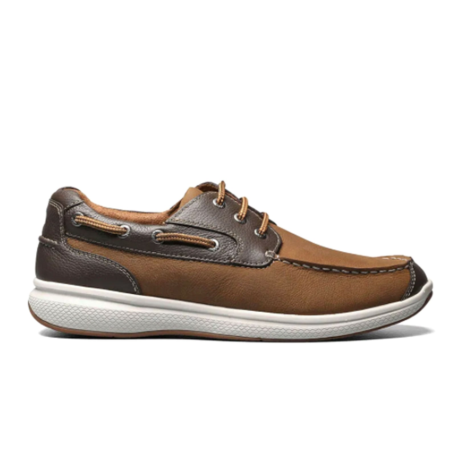 Florsheim Great Lakes Moc Toe (Men) - Stone Crazy Horse Dress/Casual|Boat Shoes - The Heel Shoe Fitters