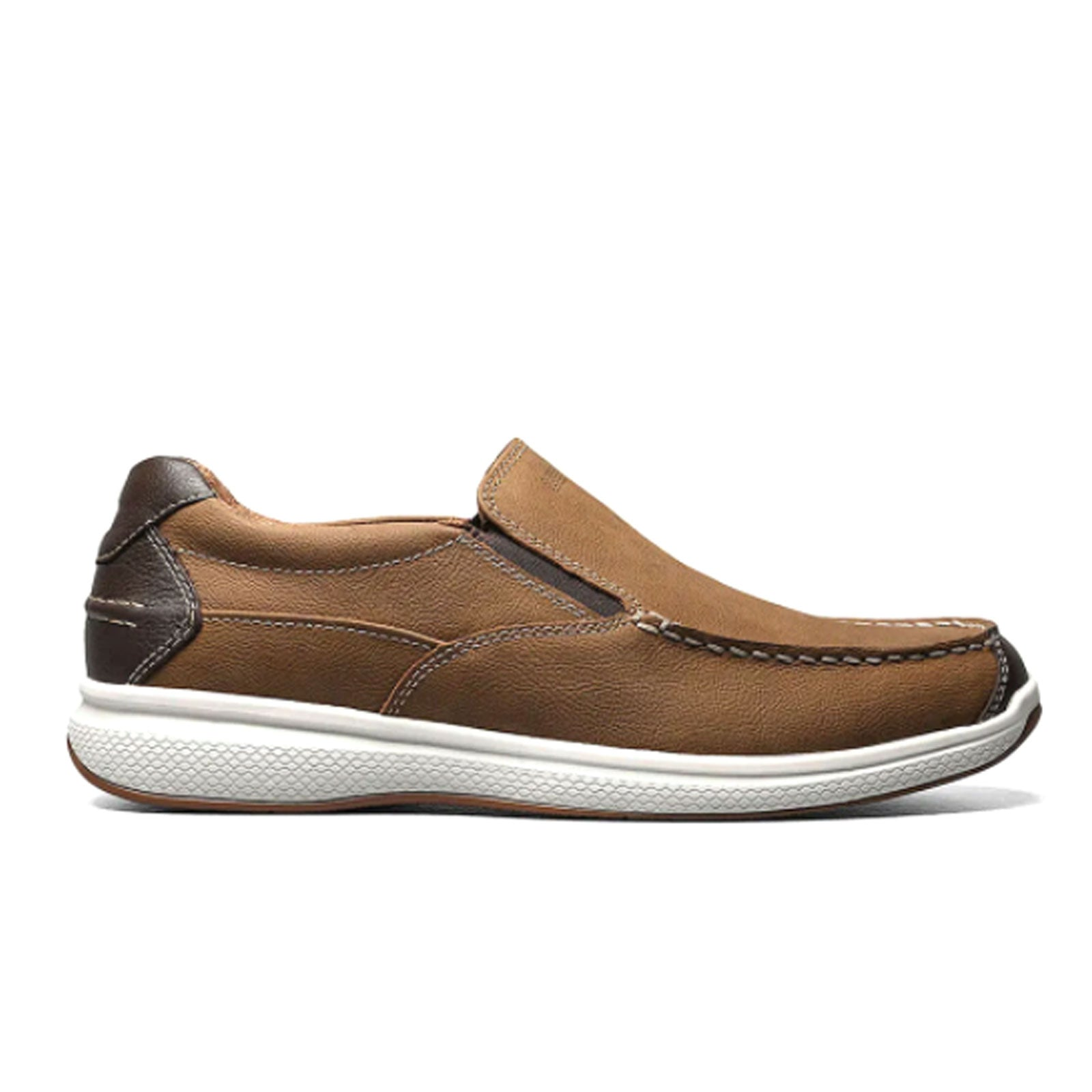 Florsheim Great Lakes Slip On (Men) - Stone Crazy Horse Dress/Casual|Slip Ons - The Heel Shoe Fitters