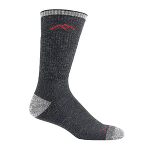 Darn Tough Hiker Cushion (Men) - Black Socks|Perf - Mid Crew - The Heel Shoe Fitters