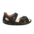 Finn Comfort Samara (Women) - Buggy/Schwarz Sandals|Backstrap Sandals - The Heel Shoe Fitters