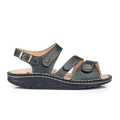 Finn Comfort Tiberias (Women) - Anthrazit Luxory Sandals|Backstrap Sandals - The Heel Shoe Fitters