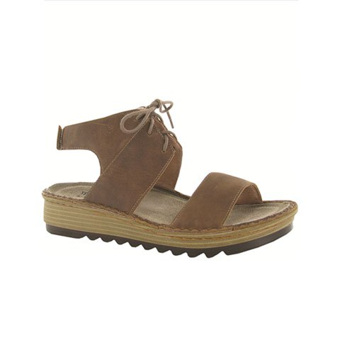 Naot Alpicola (Women) - Saddle Brown Sandals|Backstrap Sandals - The Heel Shoe Fitters