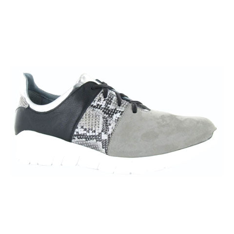 Naot Buzz - Gray/Gray/Silver/Black Athletic|Athleisure - The Heel Shoe Fitters