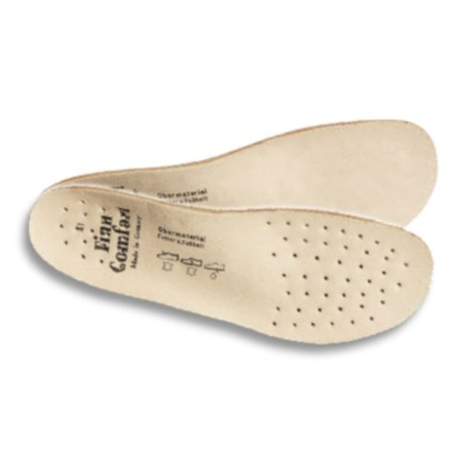 Finn Comfort Footbed 19541 (Unisex) - Natural Orthotics|Full Length|Full - Posted - The Heel Shoe Fitters