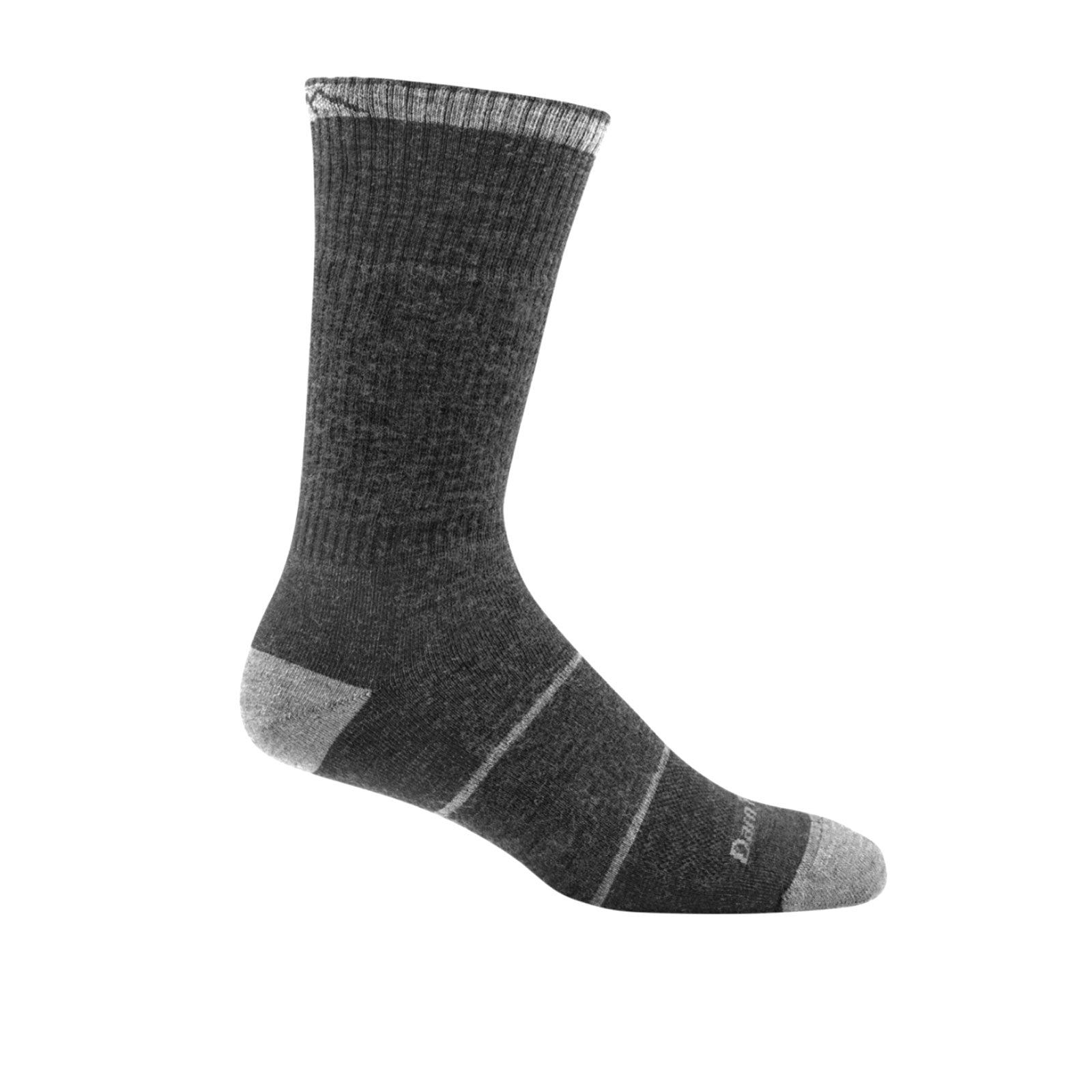 Darn Tough William Jarvis Boot Midweight Cushion (Men) - Gravel Socks - Life - Crew - The Heel Shoe Fitters
