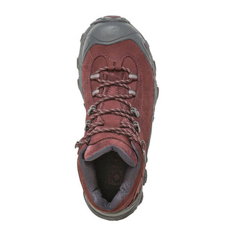 Oboz Bridger Mid B-DRY (Women) - Mahogany Boots|Hiking - Mid - The Heel Shoe Fitters