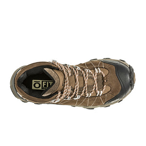 Oboz Bridger Mid B-DRY (Women) - Walnut Boots|Hiking - Mid - The Heel Shoe Fitters