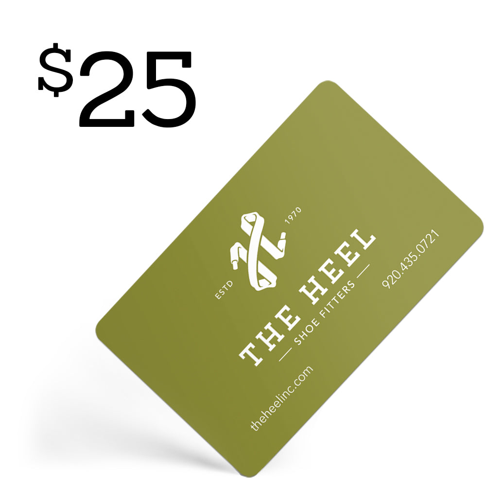 $25 Gift Card  - The Heel Shoe Fitters