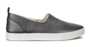 Ecco Gillian Slip On - Black/Dark Silver