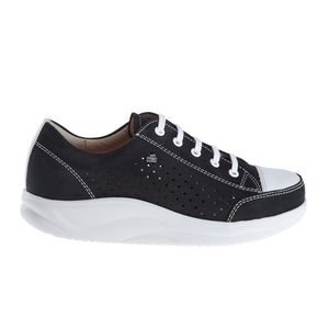Finn Comfort Ceylon (Women) - Schwarz/Jasmin Dress/Casual|Lace Ups - The Heel Shoe Fitters