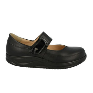 Finn Comfort Nagasaki (Women) - Black Dress/Casual|Mary Janes - The Heel Shoe Fitters